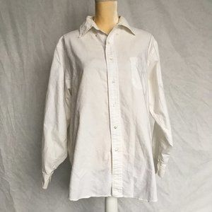 Brooks Brothers Cotton White Buttondown Shirt